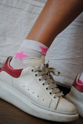 Fluo Stars - Woman Socks