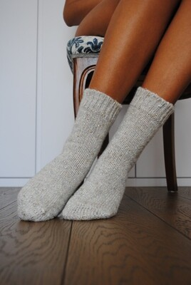 Lurex Cozy Socks - Woman Socks