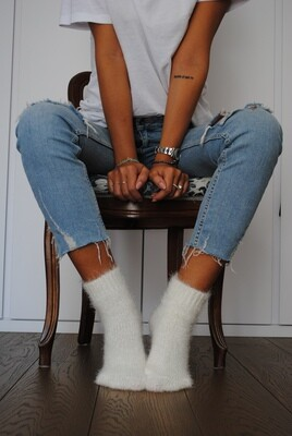 Fluffy - Woman Socks