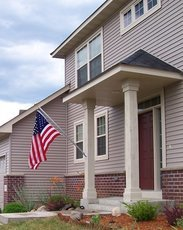 House Mount Flagpoles