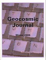 2006 Geocosmic Journal:  Astrological Research