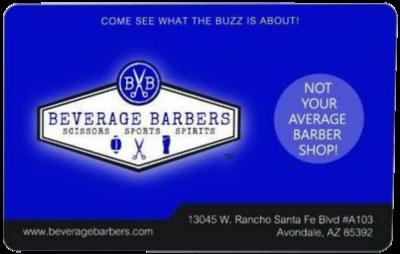 Beverage Barbers Web Gift Card-50