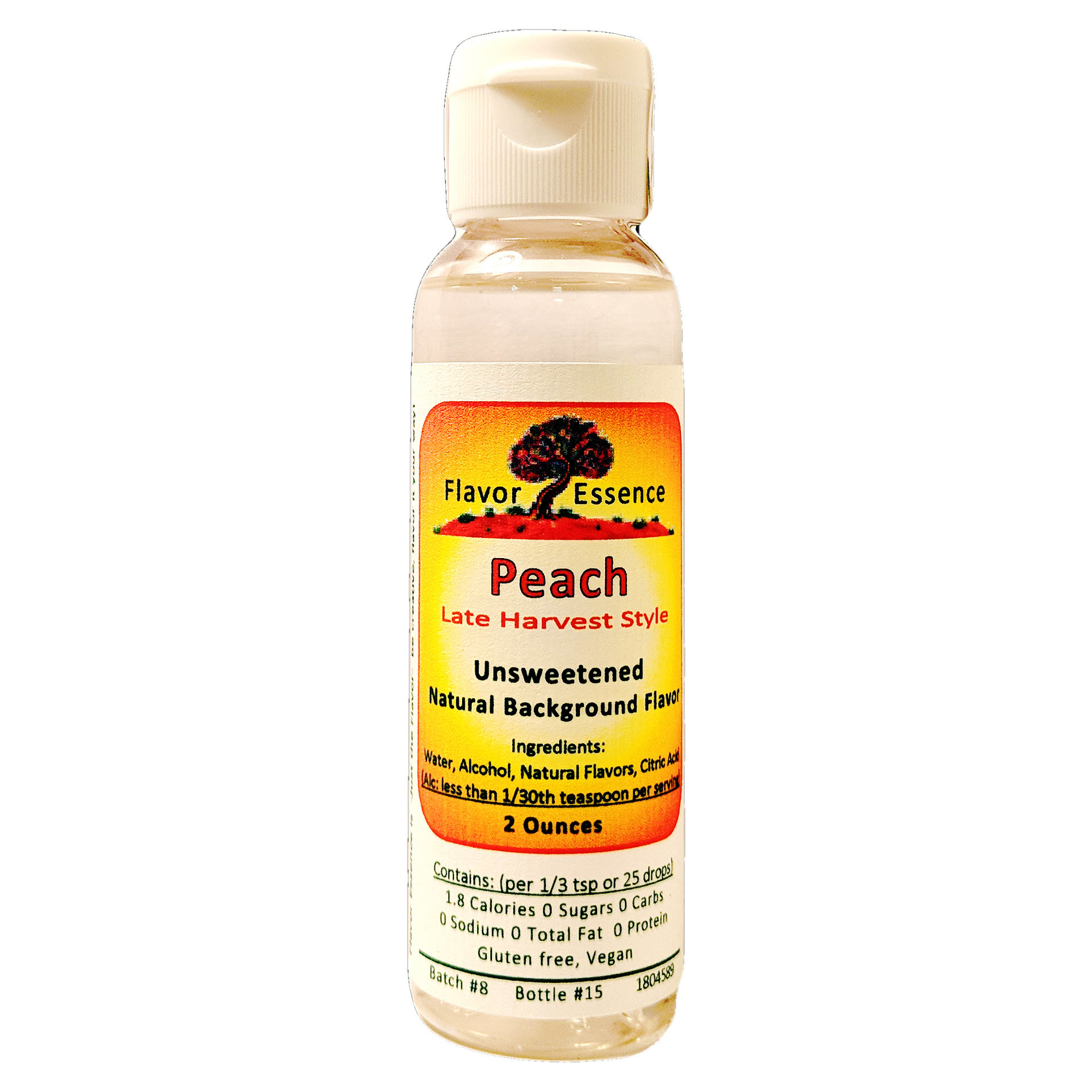 Flavor Essence PEACH (Late Harvest Style) -Unsweetened Natural Flavoring PCH-