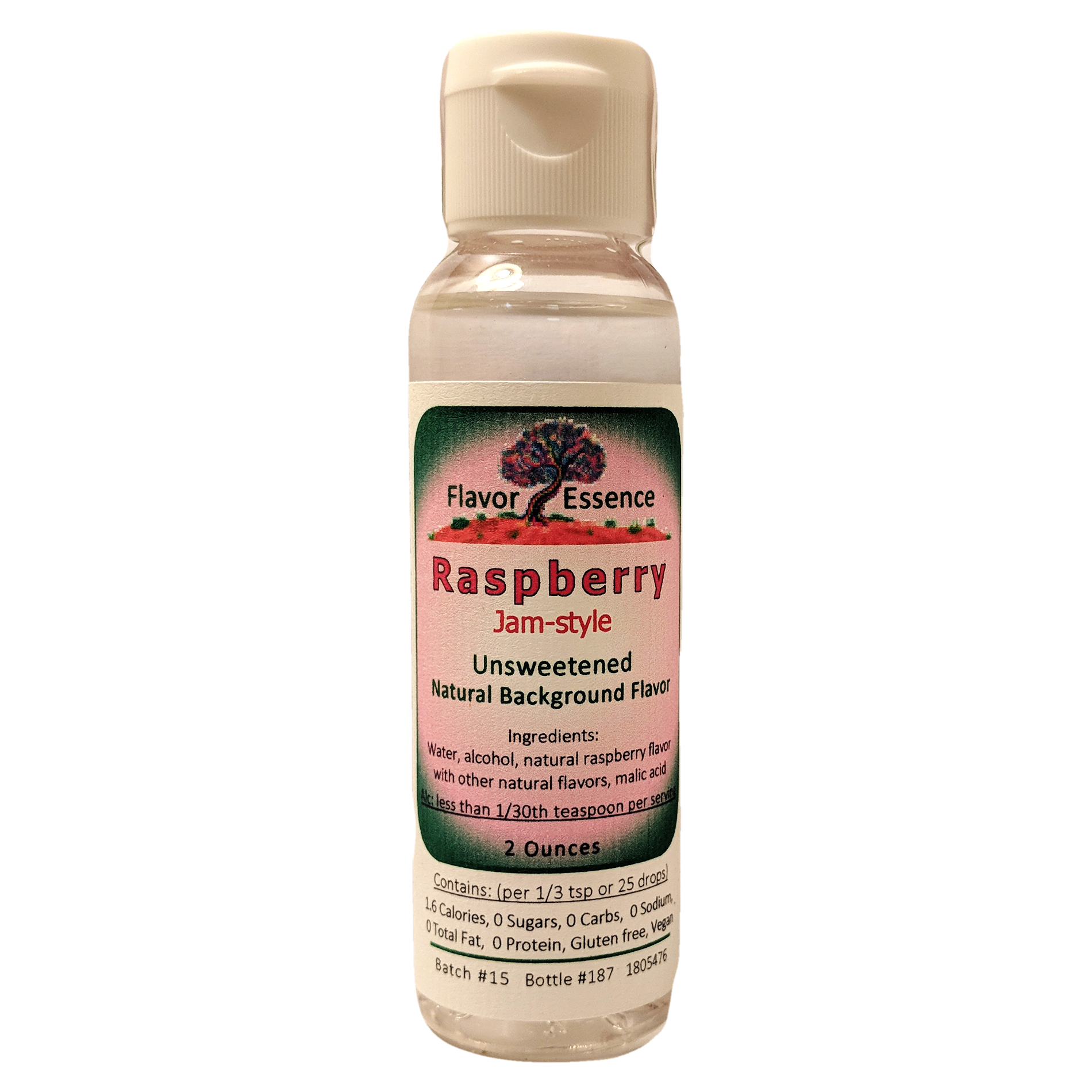 RASPBERRY (Jam-Style) Unsweetened Natural Flavoring RASP-