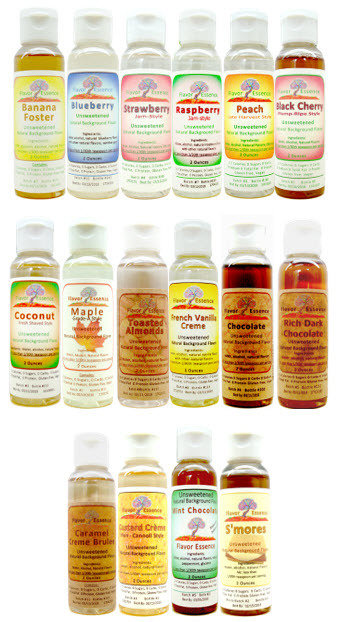 Flavor Essence Flavorings (5-Pack x 2 oz any combination, 5.99 ea) 5-Pack