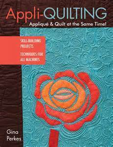 Appliquilting by Gina Perkes (signed copy) 00026