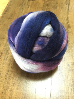 Merino/Yak/Silk 70/15/15 Dyed Top 4oz/ 2 balls