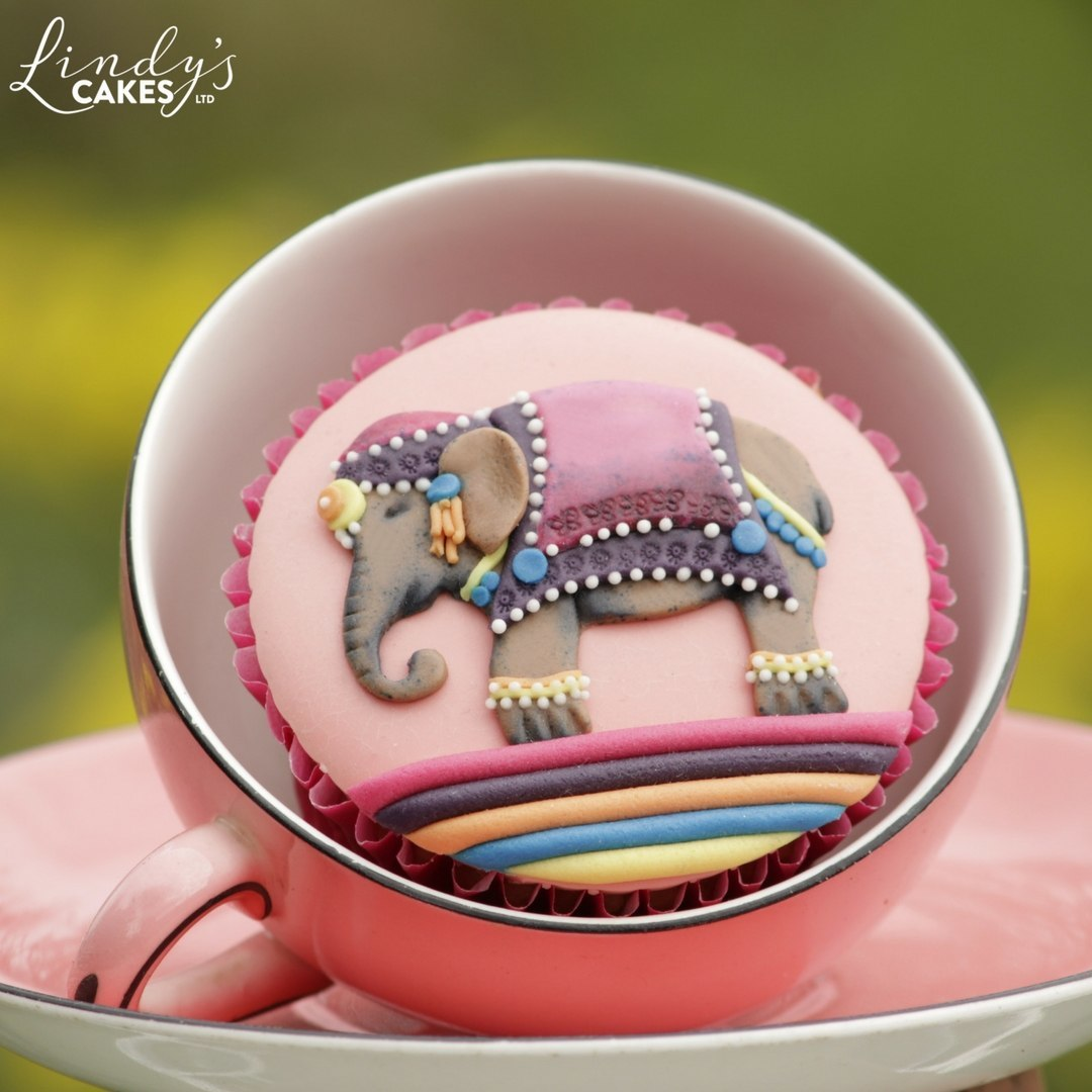 Elephant - Small Asian Elephant Sugarcraft Cutter Set (Lindy's)