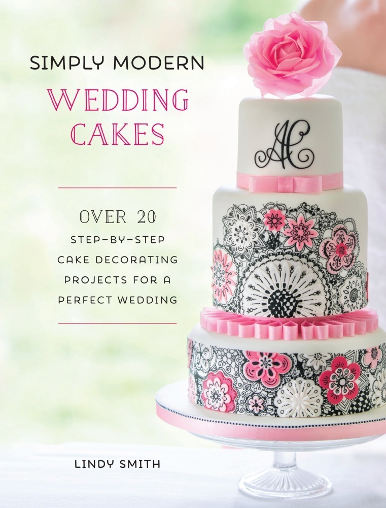 'Simply Modern Wedding Cakes' book by Lindy Smith SKU18065111