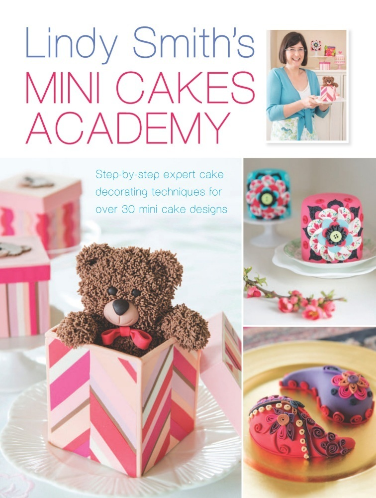 'Lindy Smith's Mini Cakes Academy' Book SKU1806511