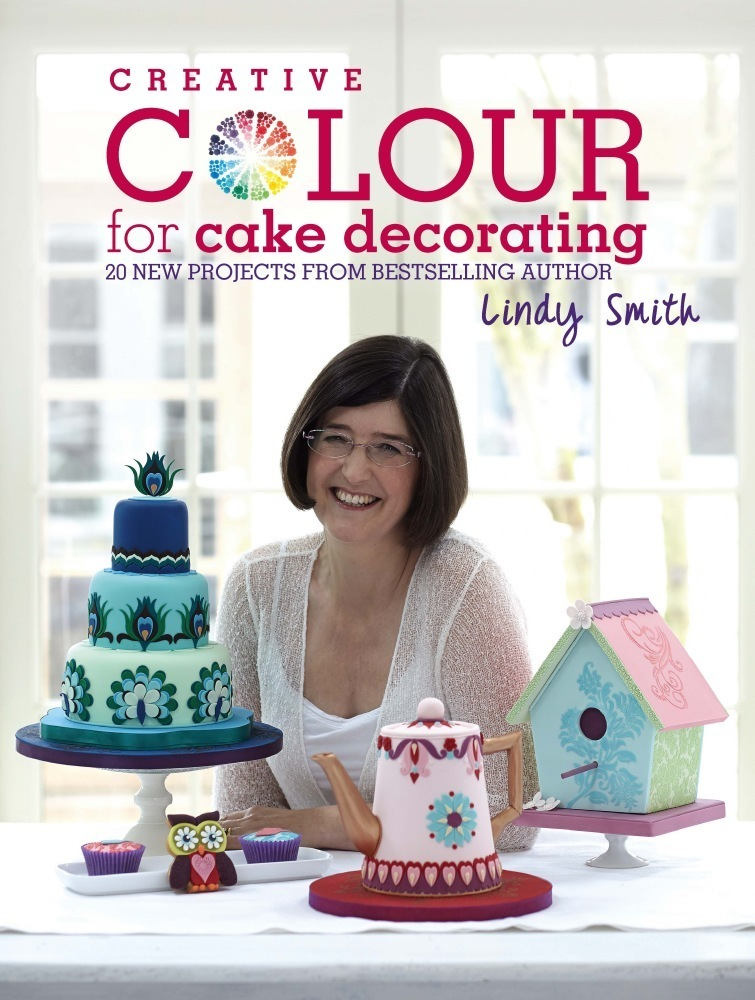 'Creative Colour for Cake Decorating' Book by Lindy Smith SKU180651
