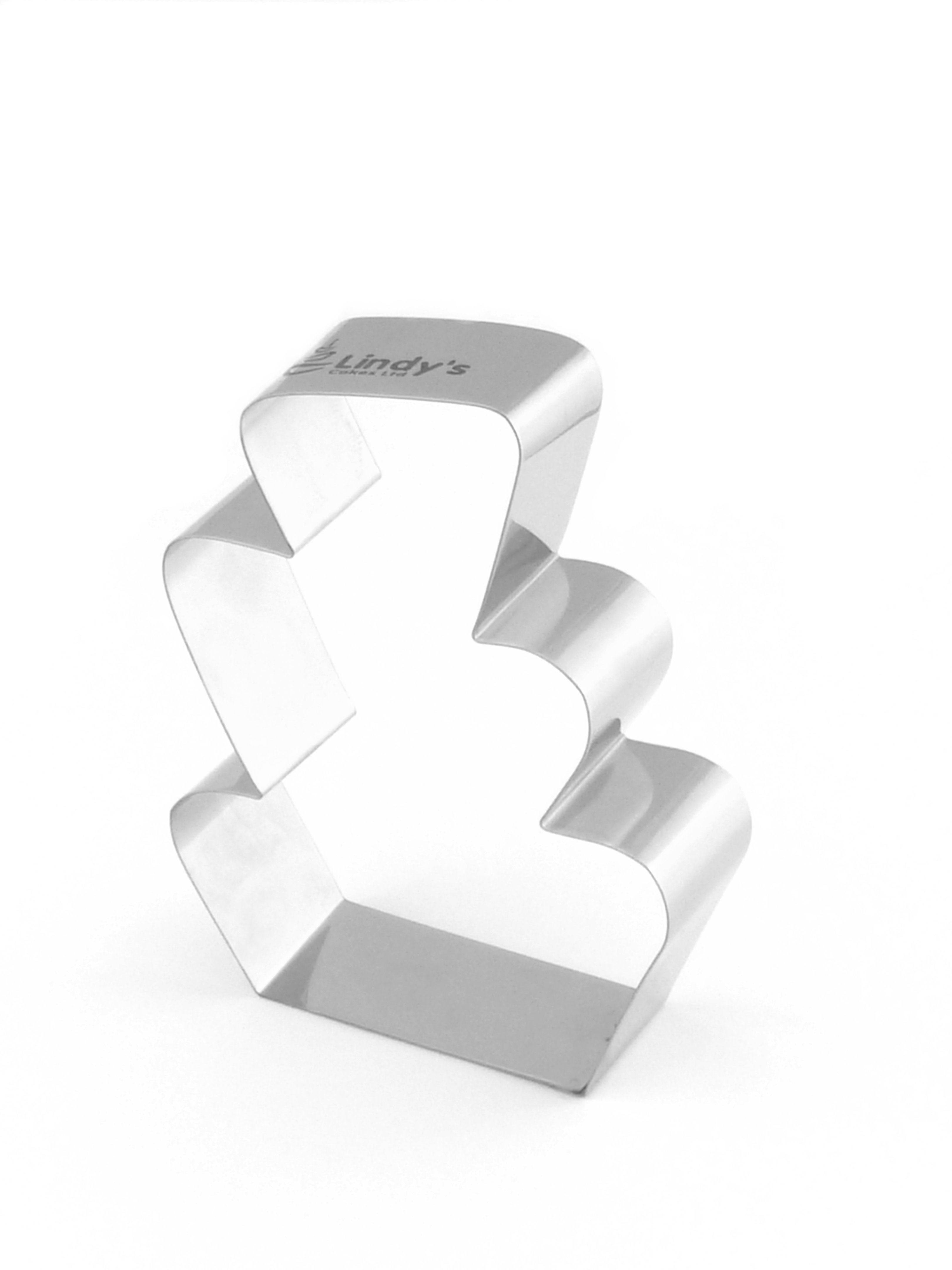 Wonky Wedding Cake Cookie Cutter (Lindy's) SKU18024