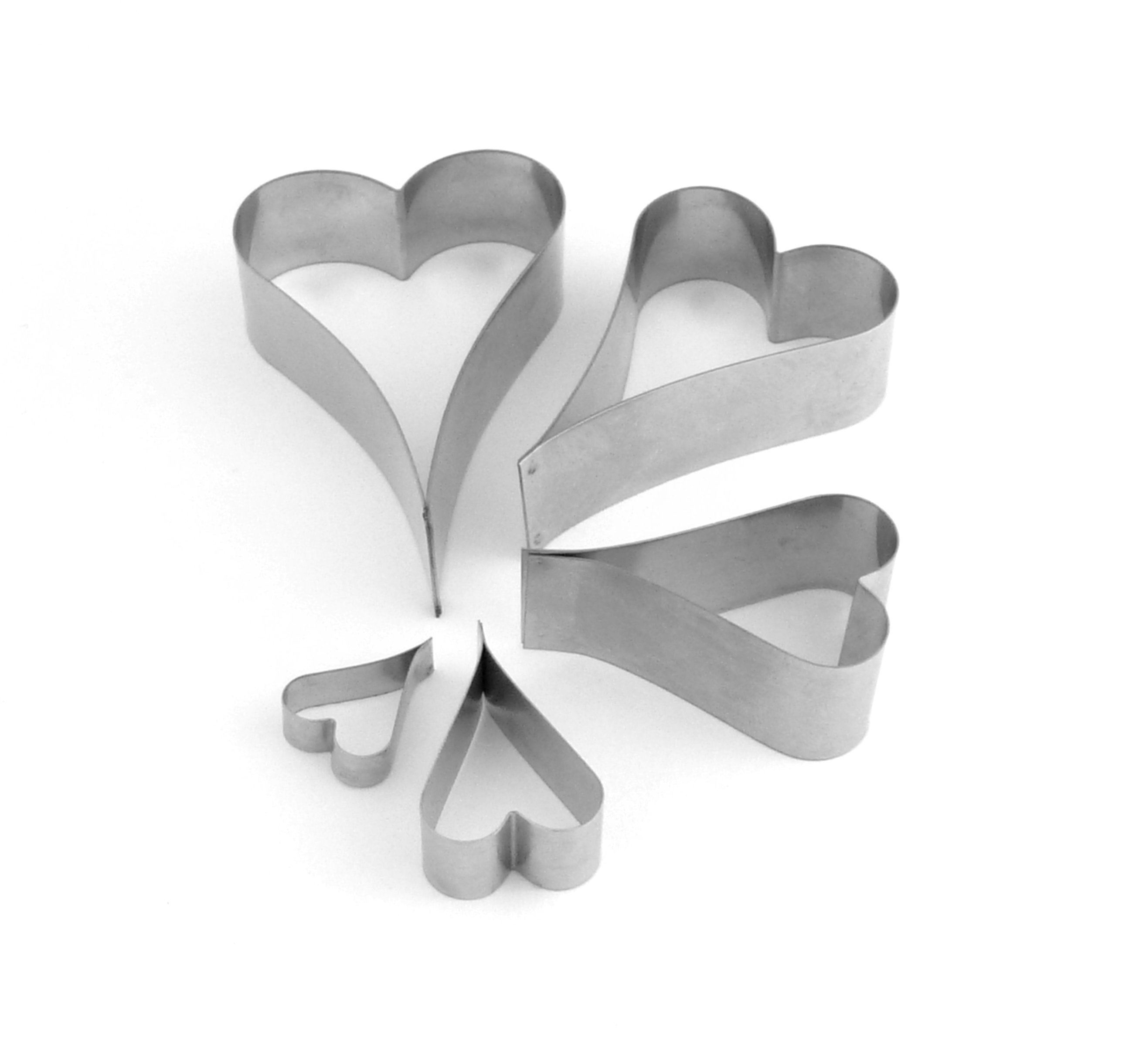 Heart - Elegant Heart Sugarcraft Cutters (Lindy's) SKU17876