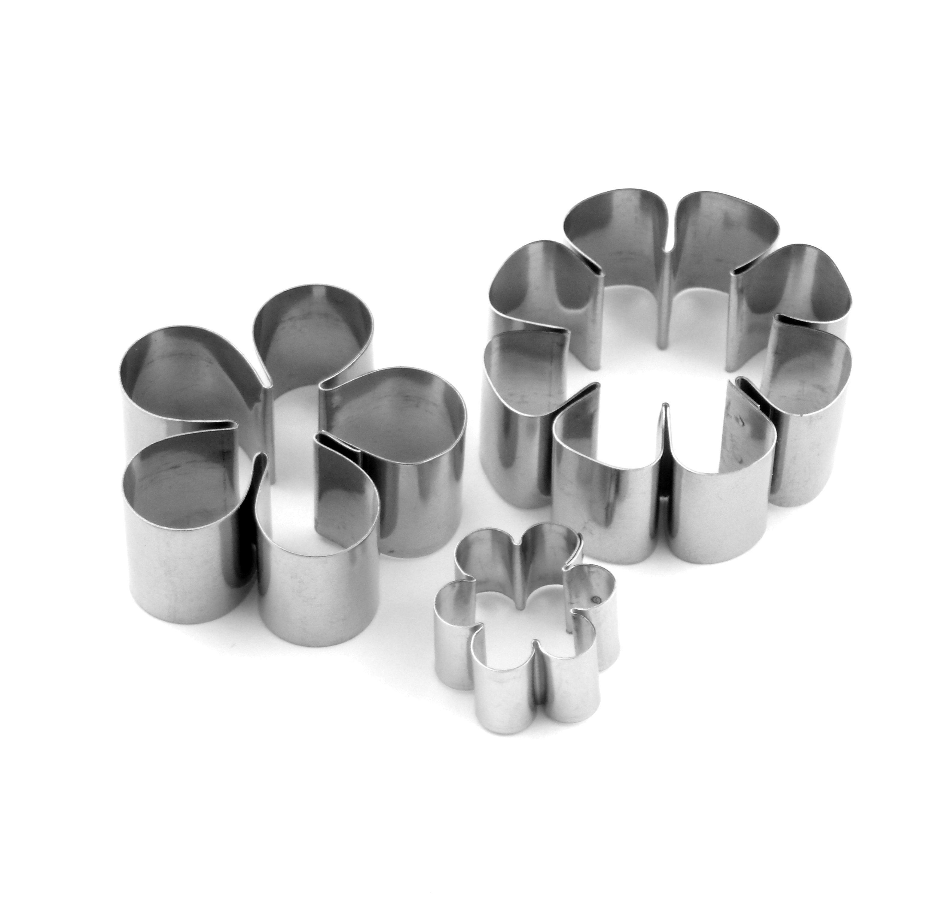 Flat Floral Sugarcraft Cutter Collection - Set 1 (Lindy's) SKU17867