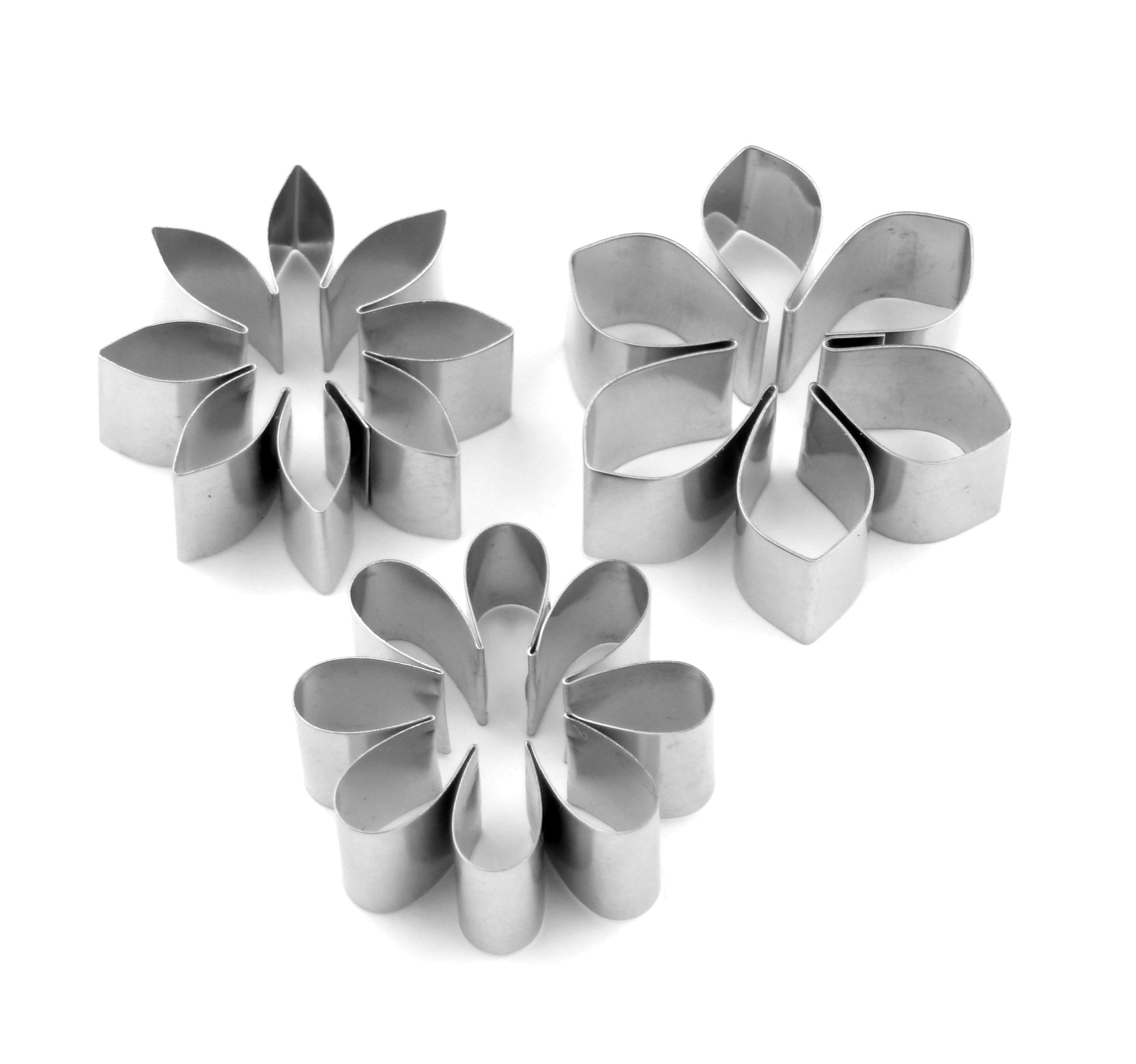 Flat Floral Sugarcraft Cutter Collection - Set 2 (Lindy's) SKU178671