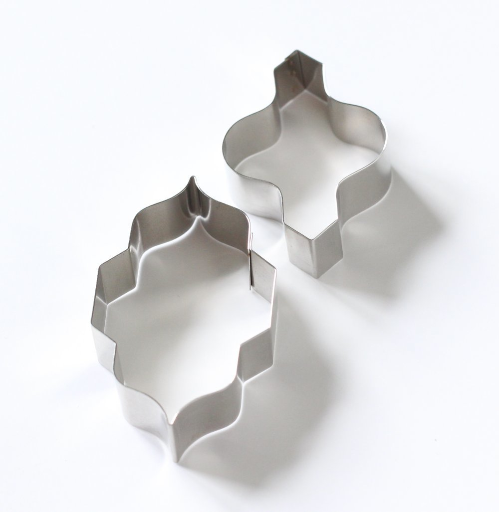 Tile - Large Interlocking Moroccan Tile Sugarcraft Cutters (Lindy's) SKU17893123121311141