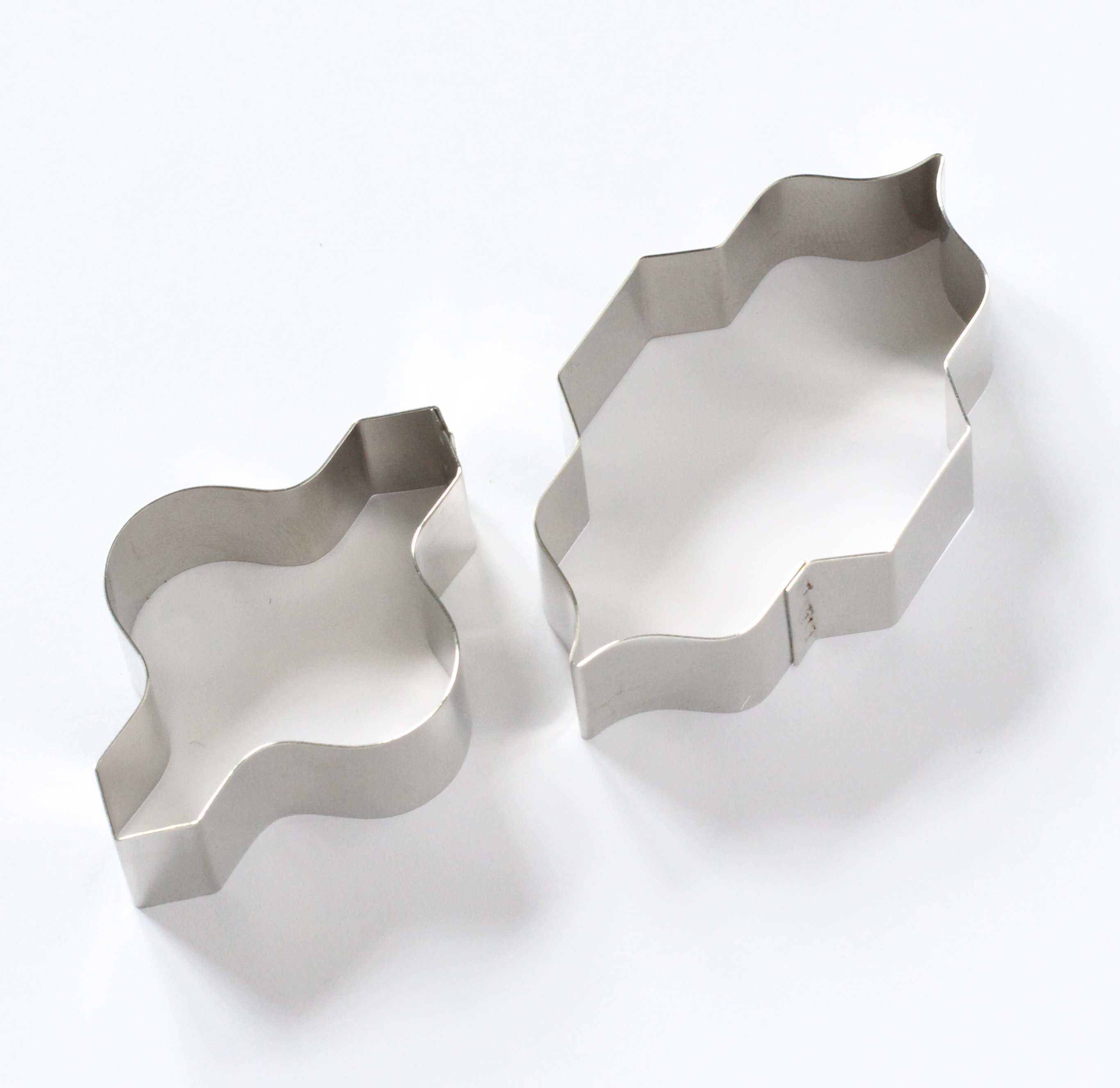 Tile - Medium Interlocking Moroccan Tile Sugarcraft Cutter Set (Lindy's) SKU178931231213111411