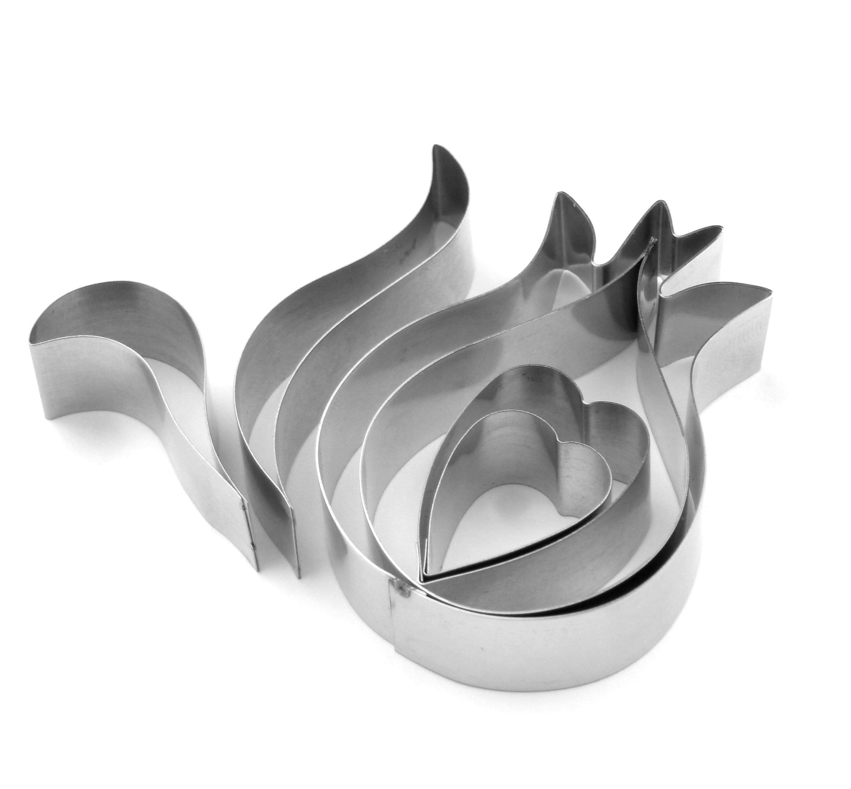 Peacock Feather Sugarcraft Cutter Set (Lindy's) SKU178931231213111