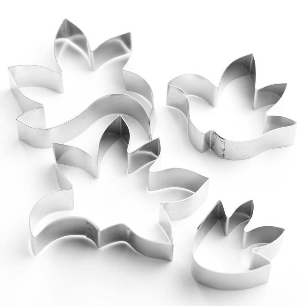 Flowers - Stylised Flower Sugarcraft Cutters (Lindy's) SKU17872