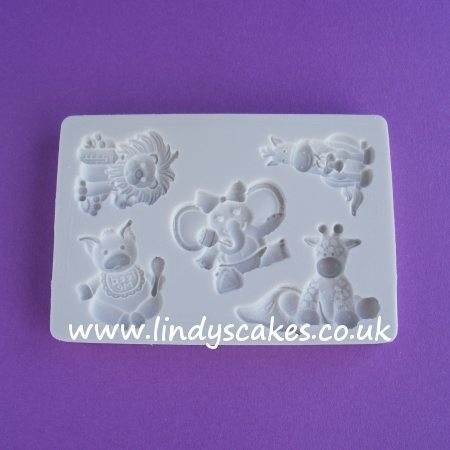 Baby Animals Mould Set (AM025) SKU1880712