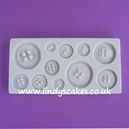 Button Mould - Plain Set (AM087) SKU188071
