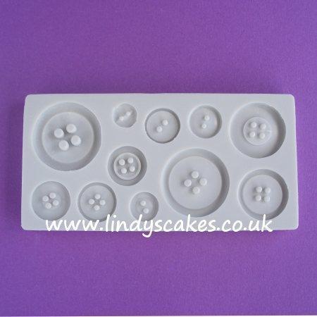 Button Mould - Plain Set (AM087) SKU188071