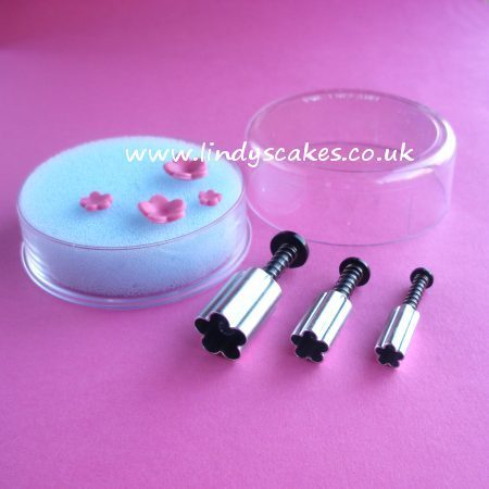 Blossom Plunger Cutters - Set of 3 (PME) SKU18047