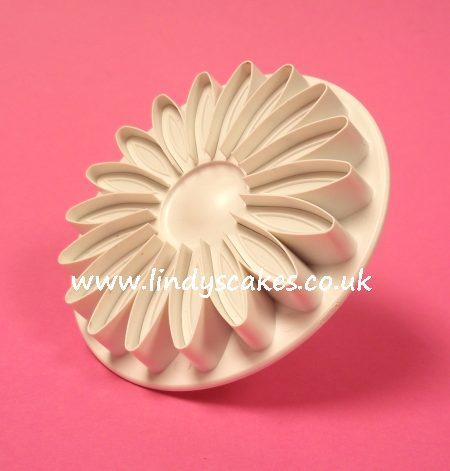 Sunflower, Gerbera and Daisy Plunger Cutter - Veined Large  (PME) SKU18052