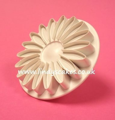 Sunflower, Gerbera and Daisy Plunger Cutter - Veined Large  (PME)