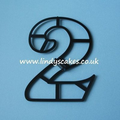 Number '2' Extra Large Cutter (Patchwork Cutters)