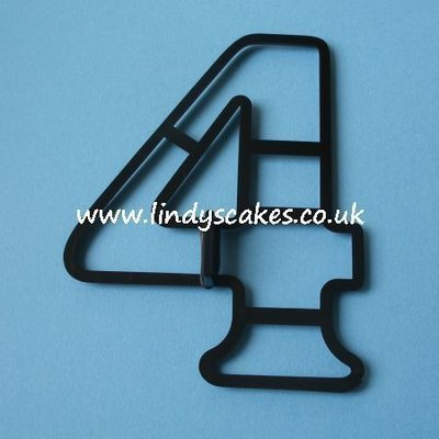 Number '4' Extra Large Cutter (Patchwork Cutters)