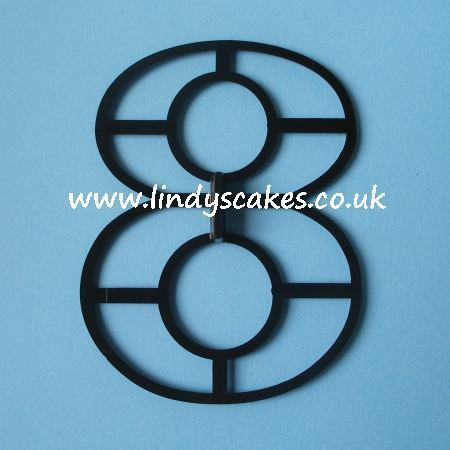 Number '8' Extra Large Cutter (Patchwork Cutters) SKU18781112111111121211111