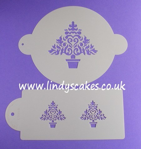 Christmas Tree Stencils (C100) SKU17820