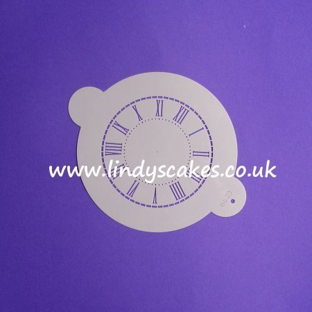 Clock Face Stencil - Small (C290) SKU18849
