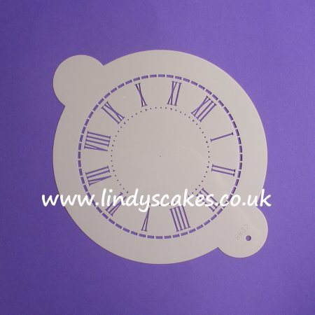 Clock Face Stencil - Medium (C288)