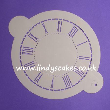 Clock Face Stencil - Large (C289) SKU1884911