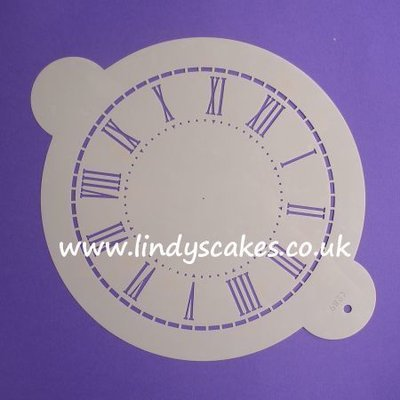 Clock Face Stencil - Large (C289)