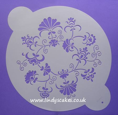 Crewel Ring Design Stencil - Medium (WO86CM) SKU17948