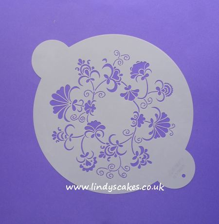 Crewel Ring Design Stencil - Small (W086CS)
