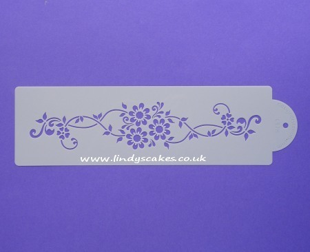 Daisy Lattice Stencil (C378) SKU17963