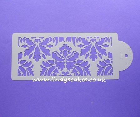 Damask Cake Side Design Stencil (C402) SKU17965