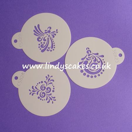Christmas Holiday Cookie Stencils (C582)