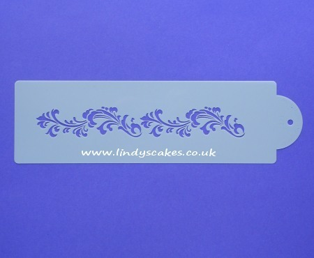 Filigree Damask #3 Stencil (C553) SKU17995