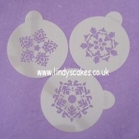 Five Point Medallion Cake Stencil (C322) SKU17823