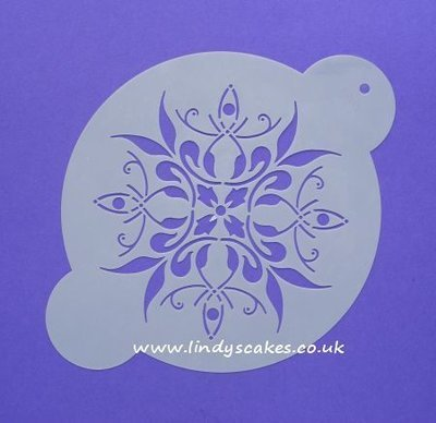 French Medallion Stencil - Small (C097)