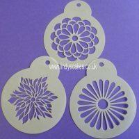Modern Flower Stencils (C559) SKU17831