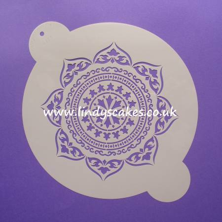 Moroccan Medallion Stencil (C713) SKU179521