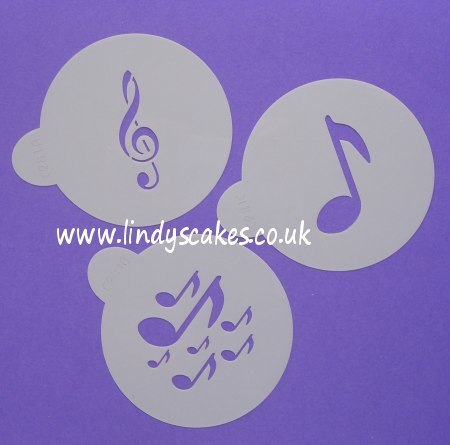 Musical Notation Stencils (C281) SKU17832