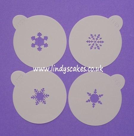 Snowflake Stencils - Mini   (C271) SKU17830