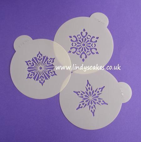 Snowflake Stencils Crystal #2 (C747) SKU178222